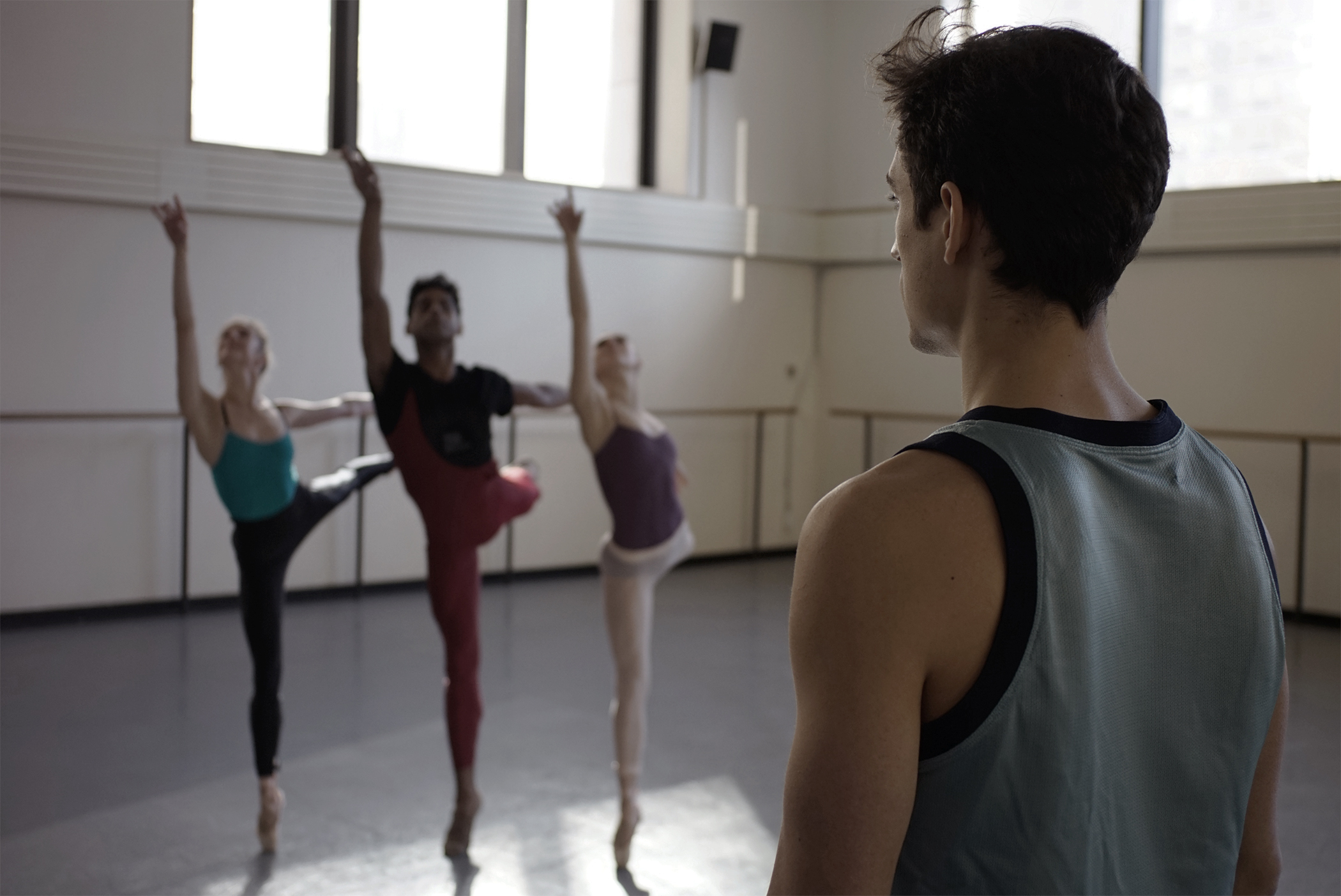 Justin Peck in BALLET 422, a Magnolia Pictures release. Photo courtesy of Magnolia Pictures.